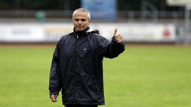 Spokojený sparťanský trenér Vítězslav Lavička.