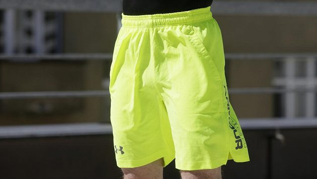 "Kraťasy Underarmour Launch Stretch Woven 9"" Shorts."