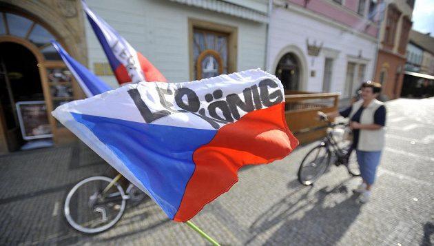 Fanoušci v Moravské Třebové vítali Leopolda Königa.