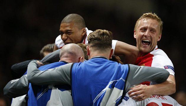 Monacká euforie, tým je v semifinále Ligy mistrů - přešel přes Dortmund.