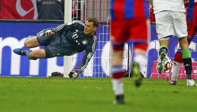 Chyba Manuela Neuera stála Bayern všechny body v domácím duelu proti Borussii Mönchengladbach.