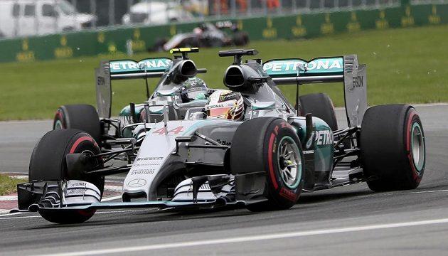 Lewis Hamilton z týmu Mercedes během Velké ceny Kanady vozů formule 1.