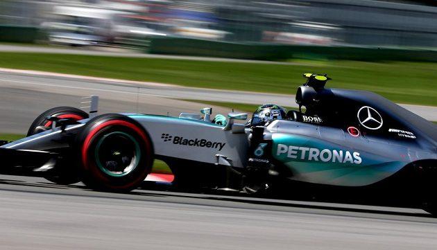 Německý jezdec F1 Nico Rosberg skončil v kvalifikaci na VC Kanady druhý.