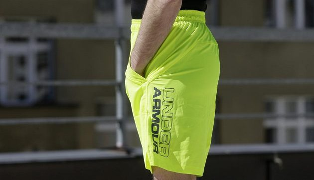 "Kraťasy Under Armour Launch Stretch Woven 9"" Shorts."