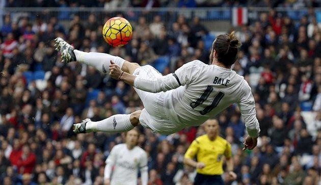 Gareth Bale v akci.