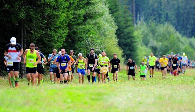 KTRC Lipenský půlmaraton - valíme se přírodou