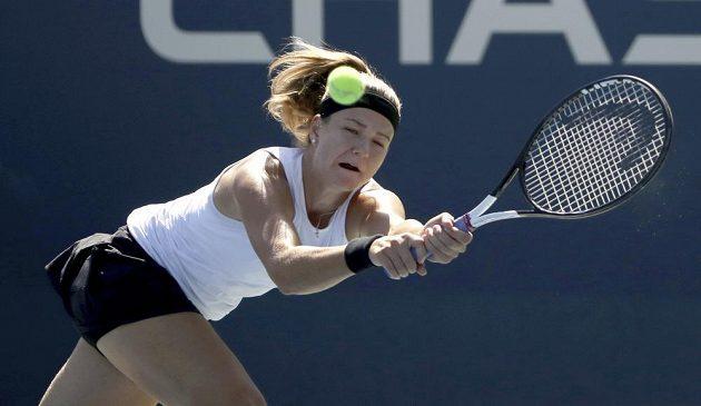 Česká tenistka Karolína Muchová během utkání druhého kola US Open.