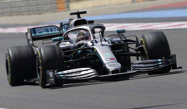 Britský mistr světa Lewis Hamilton vyhrál Velkou cenu Francie v Le Castellet.