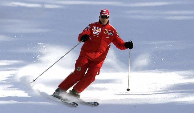 Německý závodník se vážně zranil při svém oblíbeném koníčku - lyžování.