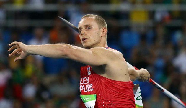 Třetím pokusem přehodil oštěpař Jakub Vadlejch kvalifikační limit.