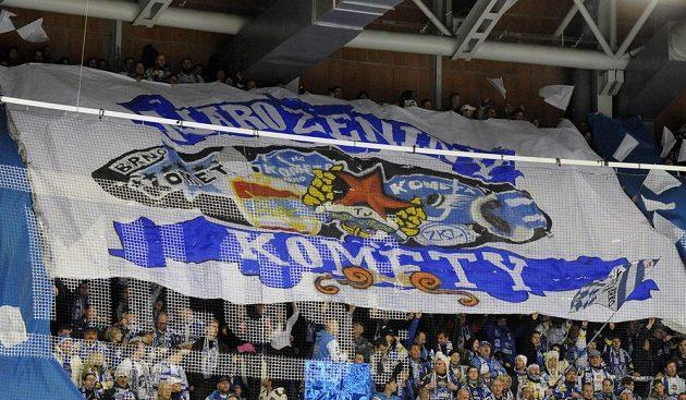 Fanoušci Brna slaví 63. výročí založení klubu.