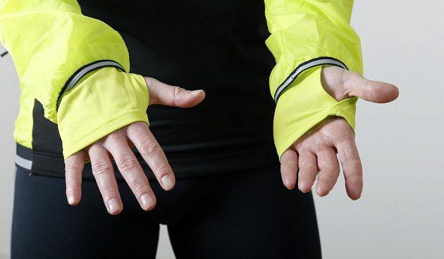 Běžecká mikina Kiprun Evolutiv Kalenji. Detail rukávů.