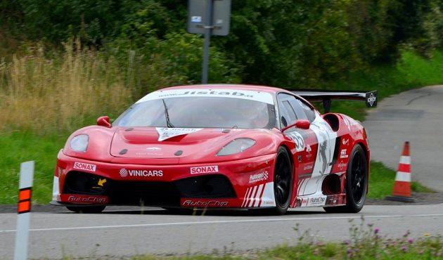 Ferrari 430 Ivo Pavlíka bude na okruzích patřit k nejhezčím i nejrychlejším.