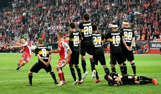 Remíza fotbalistům Unionu Berlín stačila