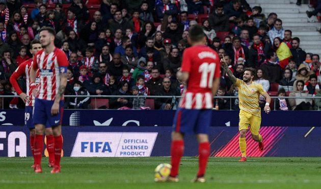 Zklamání v Madridu. Fotbalisté Atlétika pouze remizovali ve španělské lize doma s Gironou 1:1.