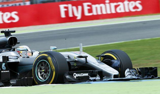 Lewis Hamilton - vítěz Velké ceny Německa.