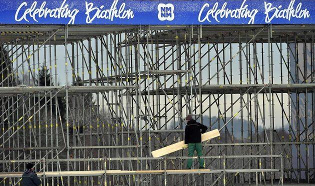 V Novém Městě na Moravě vrcholily 13. prosince přípravy na závody SP.