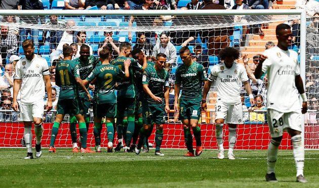 Betis se s ligový m ročníkem rozloučil výhrou na Realu
