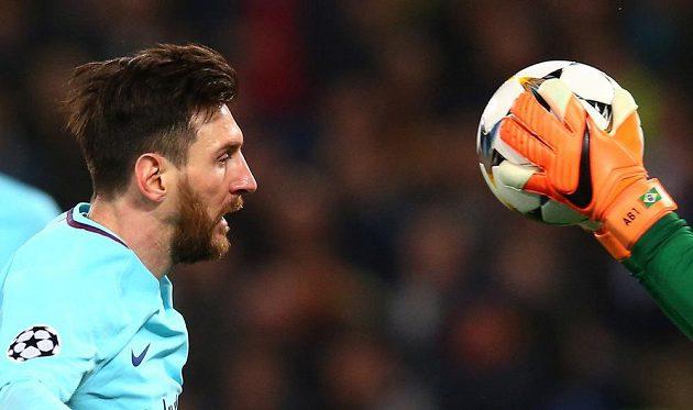 Barcelonský Lionel Messi letos Ligu mistrů nevyhraje, ze hry katalánské mužstvo poslal italský AS Řím.