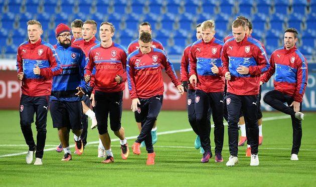 Čeští fotbalisté se v kvalifikaci MS chystají na Ázerbájdžán.