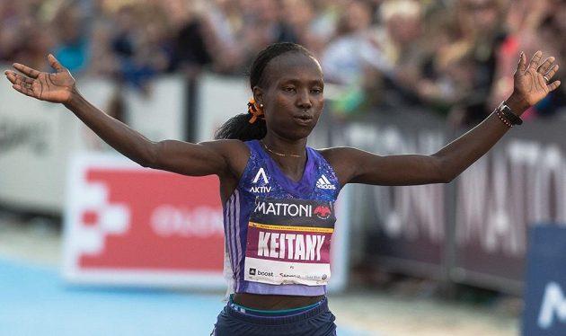 Mary Keitanyová, jedna z nejrychlejších vytrvalkyň světa.