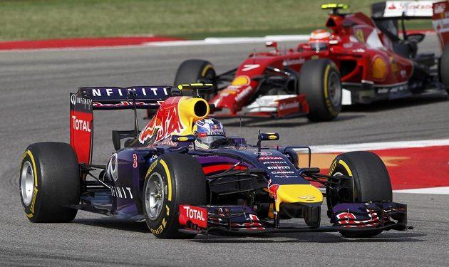 Australan Ricciardo skončil v Austinu třetí.