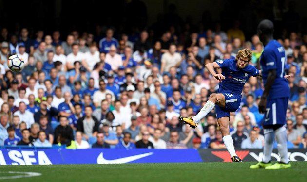 Chelsea bojovala v prvním kole sezóny Premier League proti fotbalistům Burnley, prohrála 2:3