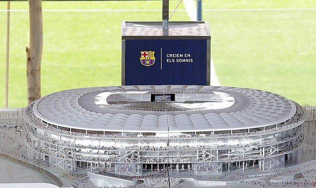 Takhle má vypadat nový Camp Nou.