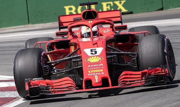 Německý pilot Sebastian Vettel z Ferrari vyhrál kvalifikaci na Velkou cenu Kanady formule 1.