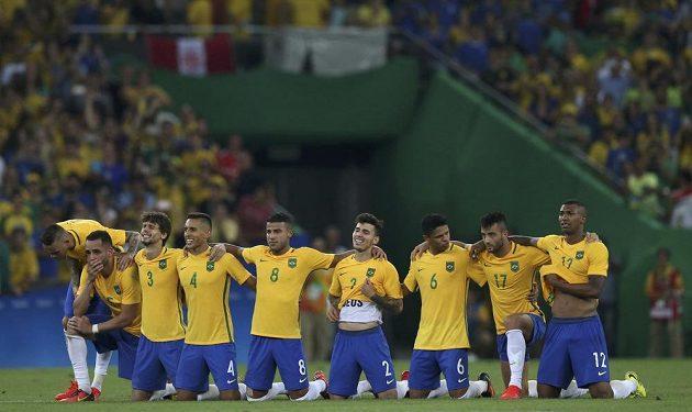 Takhle prožívali Brazilci rozstřel ve fotbalovém finále.