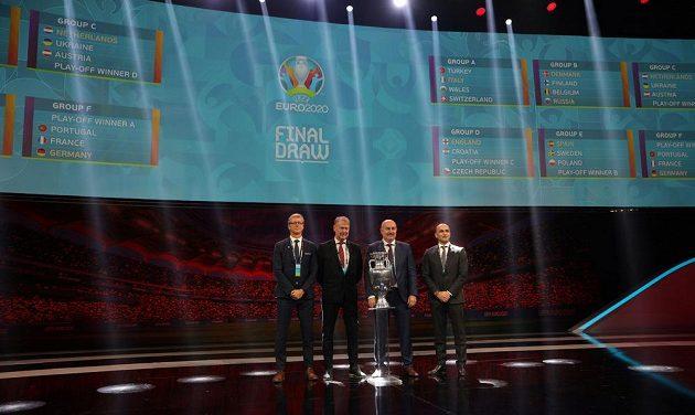 Mistrovství Evropy je vylosováno. Většina zemí zná všechny své soupeře