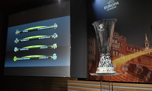 Sparta se ve čtvrtfinále Evropské ligy utká se španělským Villarrealem, rozhodl o tom páteční los ve švýcarském Nyonu.