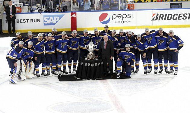 Hokejisté St. Louis s vítěznou trefejí za triumf v Západní konference