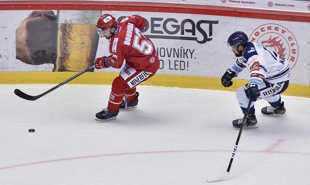 Zleva Milan Doudera z Třince a Rostislav Marosz z Vítkovic.