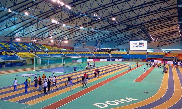 Aspire Academy v Dauhá nabízí pod jednou střechou všechno. Aletickou halu, stejně jako haly pro basketbal, volejbal, posilovny, gymnastické sály i třeba fotbalové hřiště s umělým povrchem.