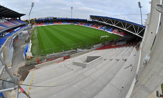 Plzeňský stadión od příštího roku pojme 11 600 diváků.