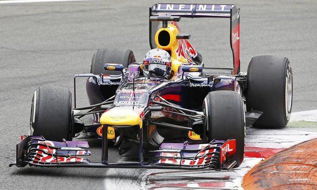 Sebastian Vettel s vozem Red Bull vyhrál Velkou cenu Itálie formule 1.