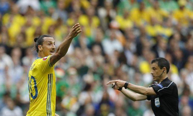 Švédská hvězda Zlatan Ibrahimovic