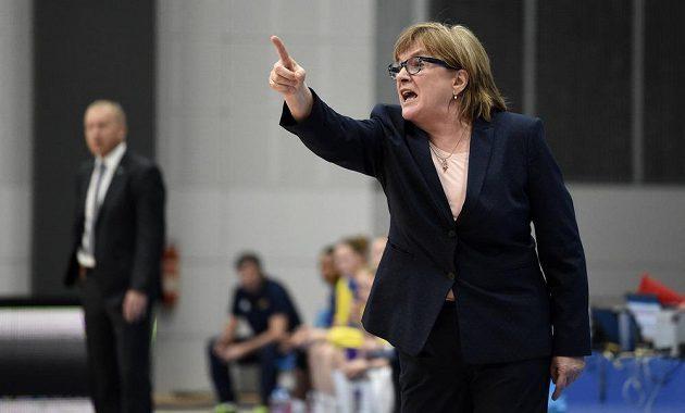 Trenérka USK Praha Natália Hejková