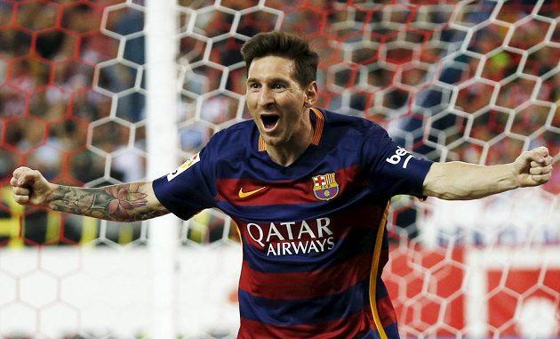 Lionel Messi oslavil narození potomka Matea vítěznou trefou na hřišti Atlétika Madrid.