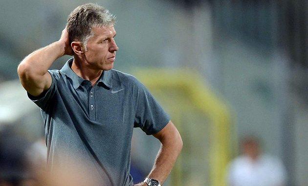 Trenér Slovanu Jaroslav Šilhavý.