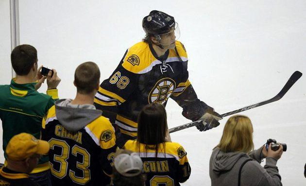 Slavná 68 se hned stala miláčkem fanoušků Bostonu.