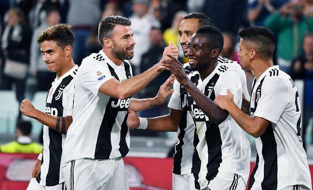 Juventus utkání jednoznačně ovládl