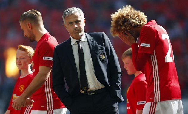 José Mourinho začal úřadovat na lavičce Manchesteru United.