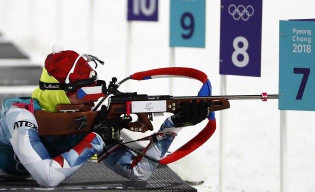 Veronika Vítková v ležce sprintu zastřílela čistě.
