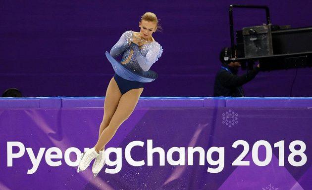 Finka Emmi Peltonenová a její volná jízda v olympijském závodě.