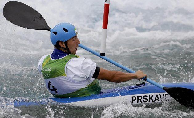 Jiří Prskavec v semifinále.