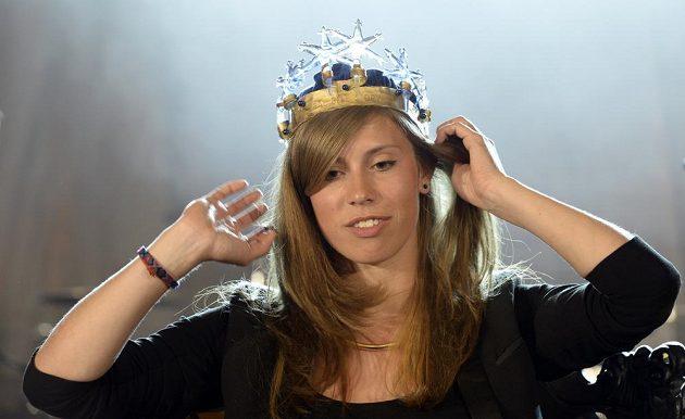 Eva Samková zvítězila v Praze v anketě Král bílé stopy 2014.
