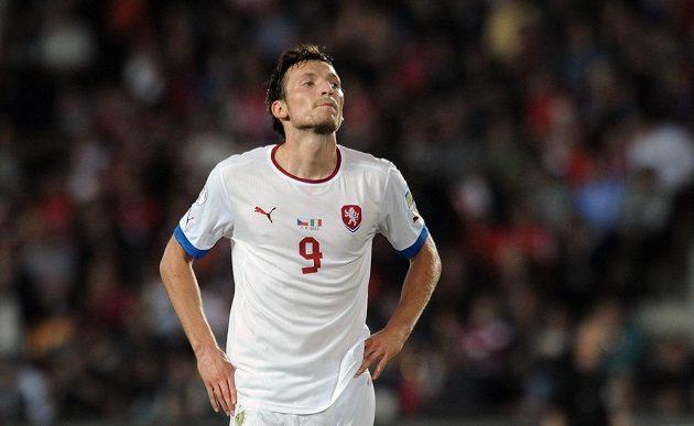 Zklamání. Libor Kozák krátce poté, co nepřekonal Gianluigiho Buffona.
