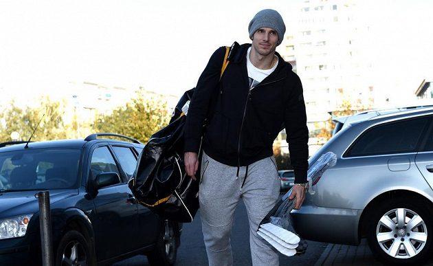 Útočník Tomáš Kubalík na srazu české hokejové reprezentace před turnajem Karlaja Cup.